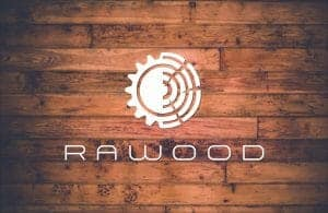 RaWood logo find us on https://www.facebook.com/RaWoodpl/