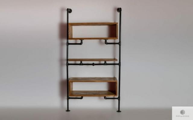 Regal modulowy z drewna do salonu DENAR find us on https://www.facebook.com/RaWoodpl/