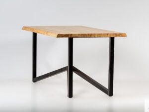 Stół z jesionowym blatem INDRA find us on https://www.facebook.com/RaWoodpl/