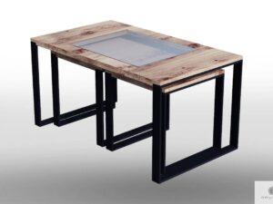Siedziska z drewna litego do salonu IBSEN find us on https://www.facebook.com/RaWoodpl/