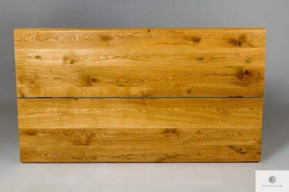 Stół z dwóch dębowych bali Merge find us on https://www.facebook.com/RaWoodpl/