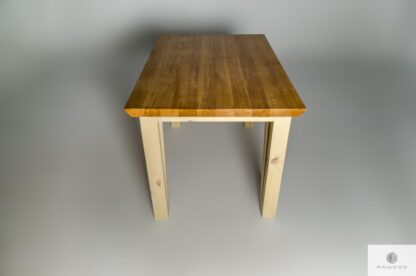Stol z drewna litego Jezz find us on https://www.facebook.com/RaWoodpl/