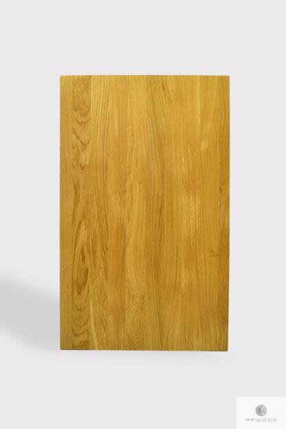Stół z litego drewna dębowego do jadalni i salonu CALLA Producent Mebli RaWood Premium Furniture
