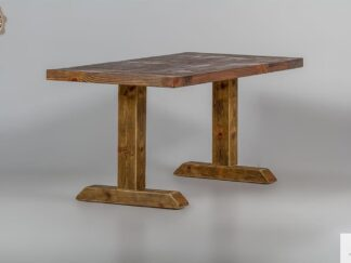 Stol drewniany z litego drewna do jadalni DREDD find us on https://www.facebook.com/RaWoodpl/