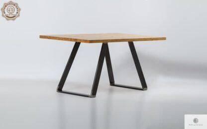 Stol z litego drewna debowego do jadalni i salonu CALLA find us on https://www.facebook.com/RaWoodpl/