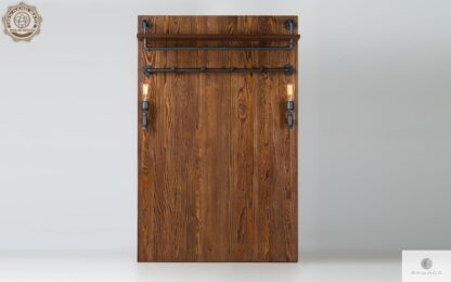 Wieszak na ubrania scienny drewniany do przedpokoju DENAR find us on https://www.facebook.com/RaWoodpl/