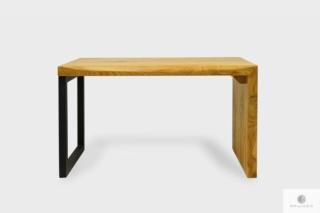 Drewniana ławka bez oparcia do przedpokoju salonu HUGON