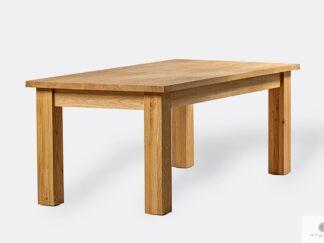 Drewniany dębowy stół do jadalni THOR
