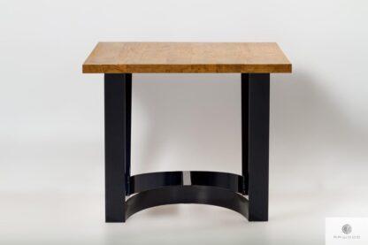 Industrialny stół z debowymblatem na wymiar do jadalni FOSTER