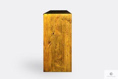 Komoda z drewna litego do salonu jadalni AMBER