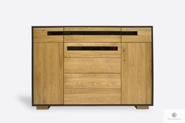 Nowoczesna komoda drewniana do salonu LAGOS