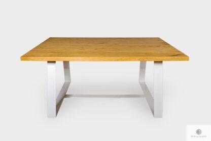 Nowoczesny stół z dębowego drewna litego do jadalni MERE