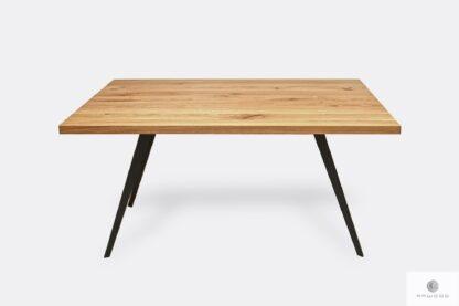 Nowoczesny stół z drewna litego dębowego do salonu VITA