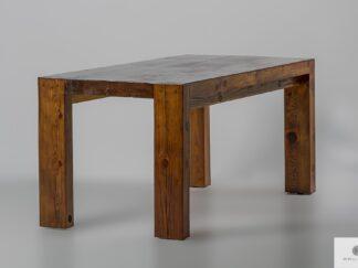 Rustykalny stół ze starego drewna do jadalni DRACO