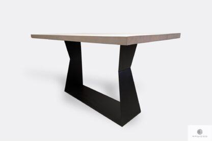 Stół dębowy industrialny do jadalni PHARELL