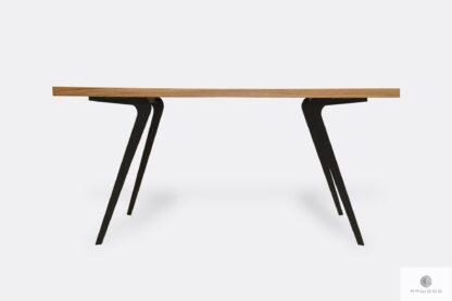 Stół dębowy na metalowych nogach VITA