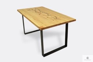 Stół loftowy industrialny do salonu WESTA