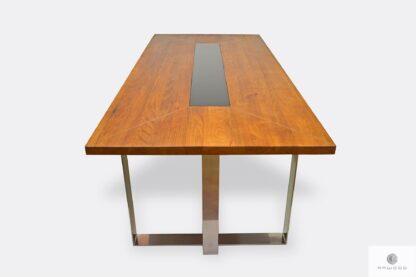 Stół z drewna litego dębowego do jadalni MOCCA