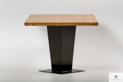 Stół z drewna litego na zamówienie do salonu TOSCA