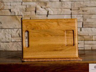 Deska do krojenia z pojemnikiem z drewna litego do kuchni find us on https://www.facebook.com/RaWoodpl/