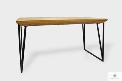 Nowoczesny stół z litego drewna na wymiar ARES