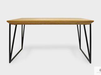 Stół dębowy elegancki do jadalni salonu ARES