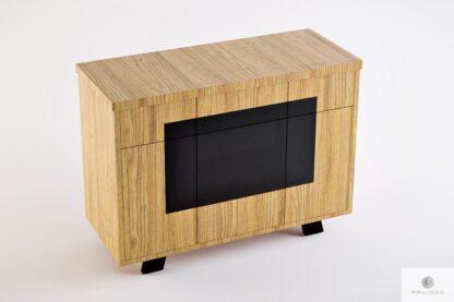 Dębowa komoda z szufladami z litego drewna do salonu VITA