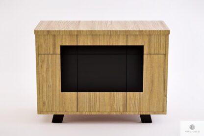 Industrialna komoda dębowa z szufladami do sypialni salonu VITA