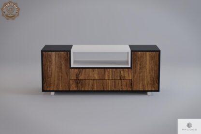 Szafka RTV pod telewizor drewniana nowoczesna do salonu BERGEN find us on https://www.facebook.com/RaWoodpl/