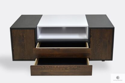 Konsola szafka RTV z szufladami do salonu BERGEN