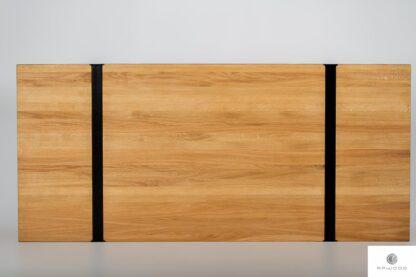Blat z naturalnego litego drewna debowego NERON find us on https://www.facebook.com/RaWoodpl/