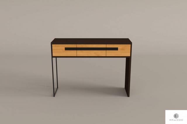 Nowoczesny pomocnik konsola drewniana do salonu przedpokoju LAGOS find us on https://www.facebook.com/RaWoodpl/