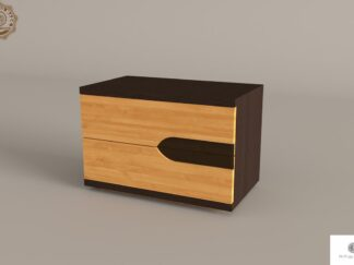 Szafka nocna z szufladami z litego drewna do sypialni LAGOS find us on https://www.facebook.com/RaWoodpl/
