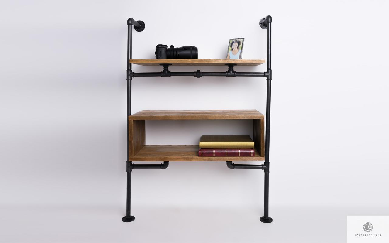Regal modulowy z drewna litego do salonu pokoju DENAR find us on https://www.facebook.com/RaWoodpl/