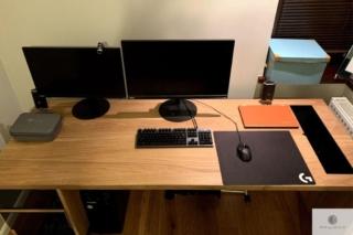Nowoczesne biurko dębowe do gabinetu MOCCA