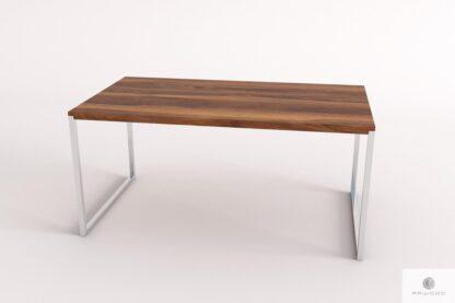 Elegancki stol ze starego drewna litego do jadalni salonu NESCA II find us on https://www.facebook.com/RaWoodpl/