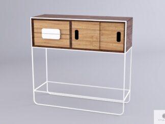 Drewniany pomocnik stolik ekspozycyjny do salonu przedpokoju DENIS