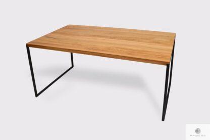 Elegancki stół z dębowego drewna litego do jadalni salonu NESCA II