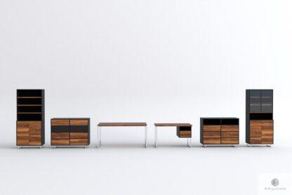 Kolekcja mebli z drewna dębowego NESCA II find us on https://www.facebook.com/RaWoodpl/