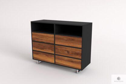 Komoda z drewna litego z szufladami nowoczesna do salonu NESCA II find us on https://www.facebook.com/RaWoodpl/