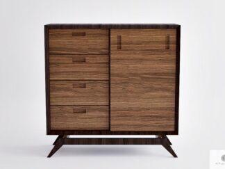 Komoda nowoczesna drewniana do sypialni salonu CLEO