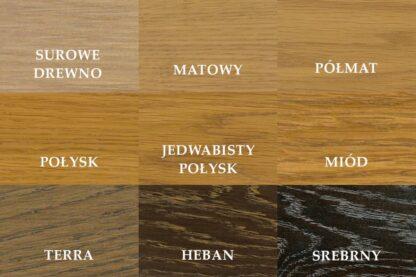 Kolory oleju drewno dębowe lite