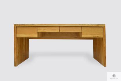 Nowoczesne biurko dębowe z szufladami do gabinetu biura DAVOS