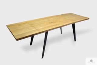 Designerski stół z dostawkami do blatu na wymiar CORTEZ