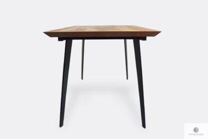Stół z drewna litego na wymiar do jadalni salonu CORTEZ