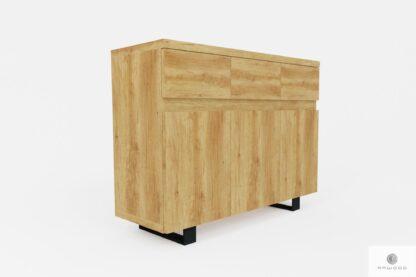 Designerska komoda z szufladami do gabinetu DELIO