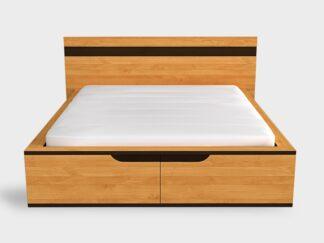 Łóżka dębowe