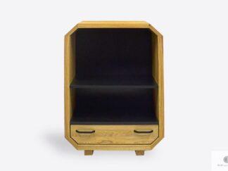 Designerska komoda dębowa nowoczesna do salonu OMNIS II