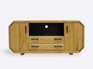 Drewniane szafki pod telewizor
